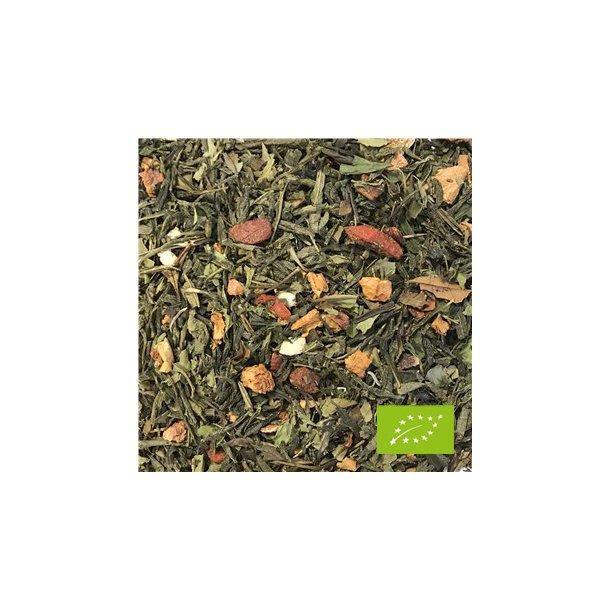 Økologisk Grøn Hvid Æble Kvæde Te